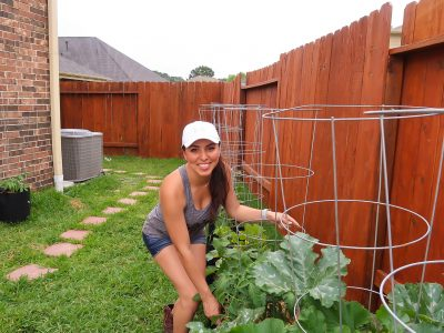 Starting A vegetable garden with smart pots